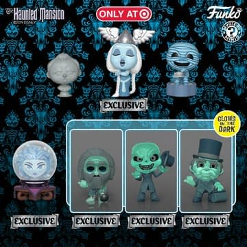 Haunted Mansion Celebrates 50th Anniversary With Funko