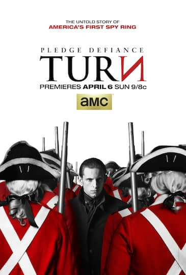 Poster - TURN _ Season 1 _ Keyart - Photo Credit: Courtesy of AMC