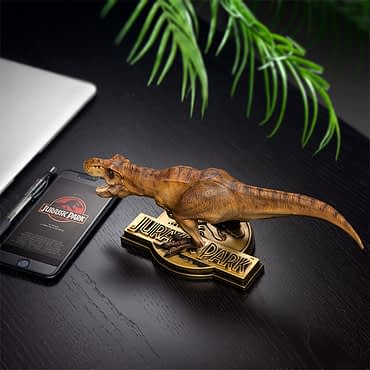 Jurassic Park's T-Rex Gets a New Statue Exclusive to ThinkGeek
