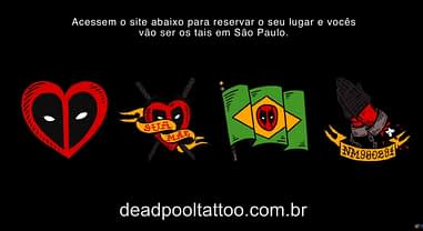 Ryan Reynolds Invites Fans In Brazil To Get Free Deadpool Tattoo