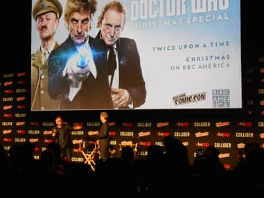 Doctor Who Christmas Special Theaters.Peter Capaldi From Madison Square Garden At New York Comic Con