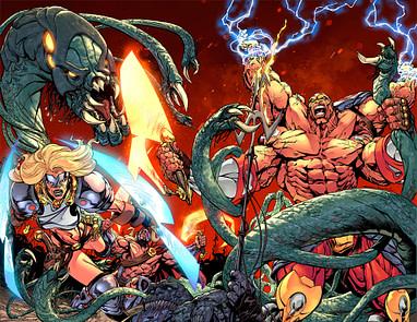 Dread Gods 1 Review Smart Interesting Satire Of Superhero Stories