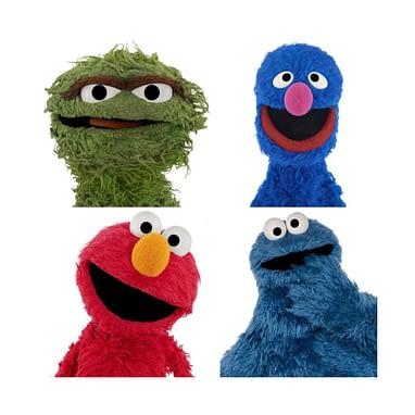 Sesame Street Desert Island Q Grover Elmo Oscar Or
