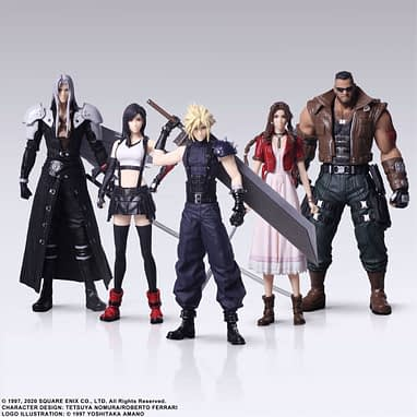 Final Fantasy Vii Remake Figures By Square Enix Are Coming Soon