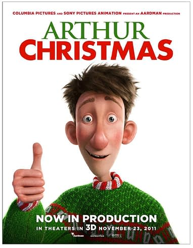 Arthurs Christmas.New Poster And Casting Details For Aardman S Arthur Christmas