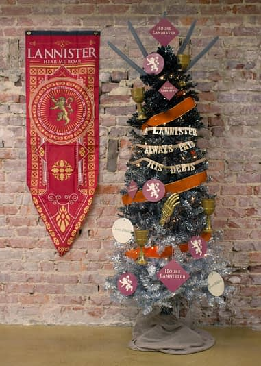 Marvel Christmas Tree Topper.Winter Is Here Game Of Thrones Inspired Christmas Trees