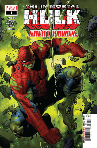 Image result for immortal hulk Great Power #1
