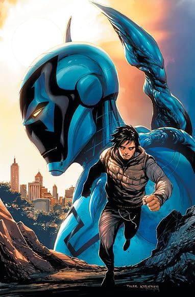 Warner Bros Developing Dc Comics Latino Superhero Blue