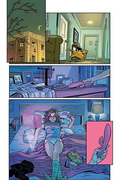 Dc komiks fotki porno