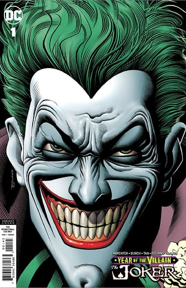 Brian Bolland Returns To Joker For Retailer Gift Edition Of