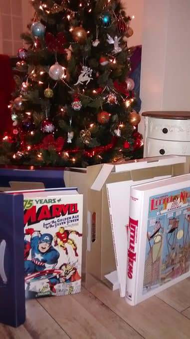 Marvel Christmas Tree.Opening The Taschen Marvel And Little Nemo Books Under The