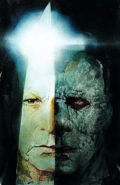 Halloween Poster Art.Check Out Some Halloween Poster Concept Art By Bill Sienkiewicz