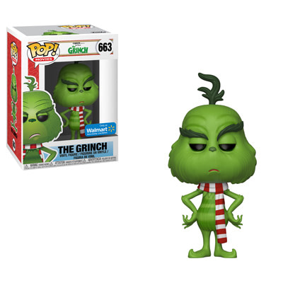 Funko The Grinch with Scarf Walmart