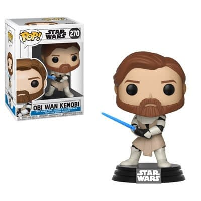 Funko Star Wars Obi Wan Kenobi Clone Wars Pop