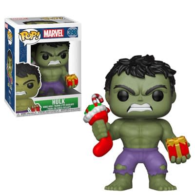 Funko Marvel Holiday Hulk Pop