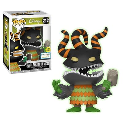 Funko Nightmare Before Christmas Harlequin Glow Pop