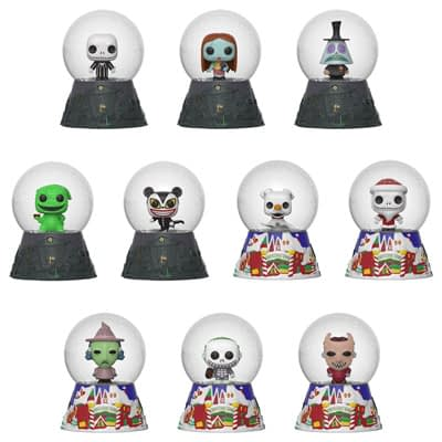 Funko Nightmare Before Christmas Mystery Mini Snow Globes 2