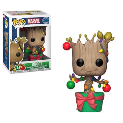 Funko marvel Holiday Groot Pop