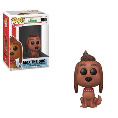 Funko The Grinch Max The Dog