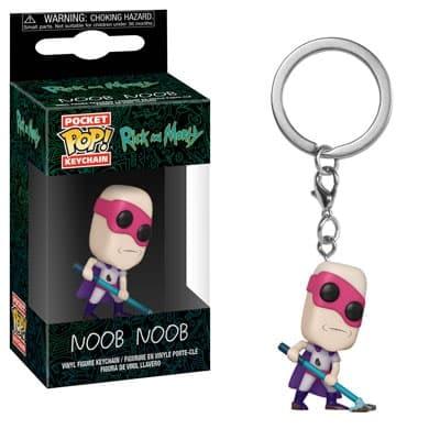 Funko Rick and Morty Keychain 1
