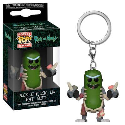 Funko Rick and Morty Keychain 3