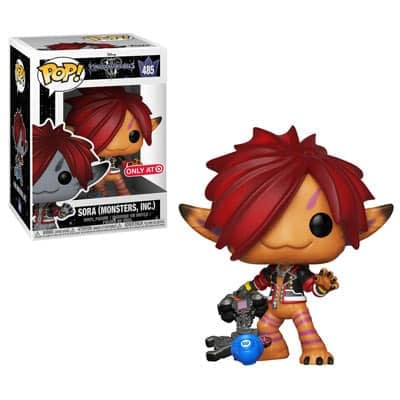 Funko Kingdom Hearts 3 Sora Monsters Inc Target Pop