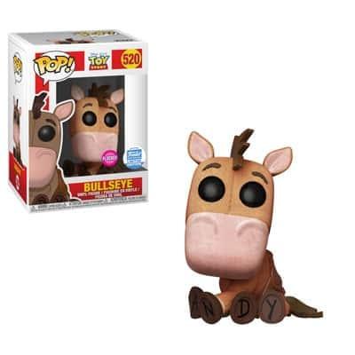 Funko Toy Story Flocked Bullseye Pop
