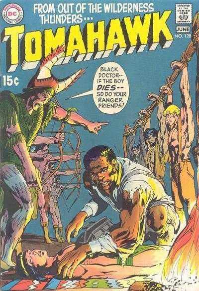 Neal Adams Tomahawk Cover From 1970 Sells for $17,5000
