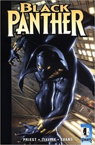 Marvel Knights Black Panther #1 cover by Mark Texeira and Joe Quesada