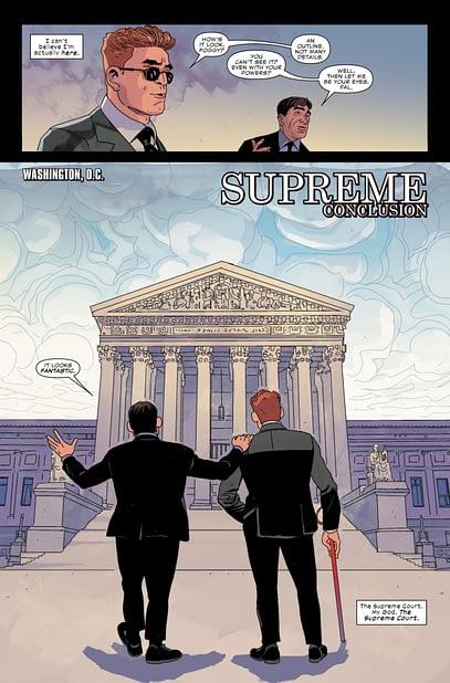 Daredevil #25 interior page