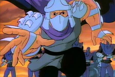 shredder is coming to get you