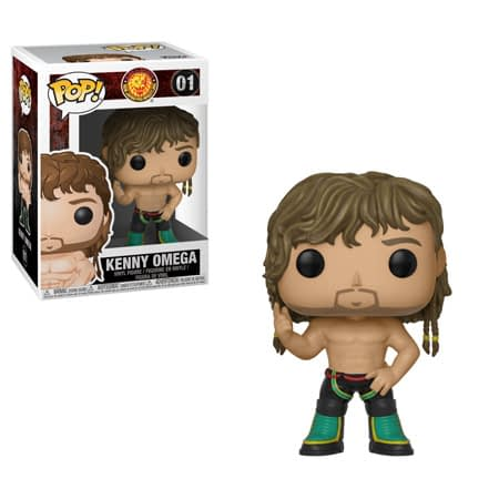 Funko NJPW Bullet Club Kenny Omega Pop