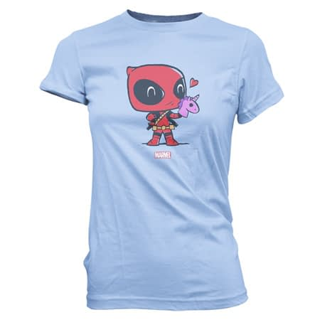 Funko Pop Tees Deadpool