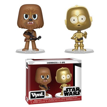 Funko Star Wars Vynl Chewbacca 3PO