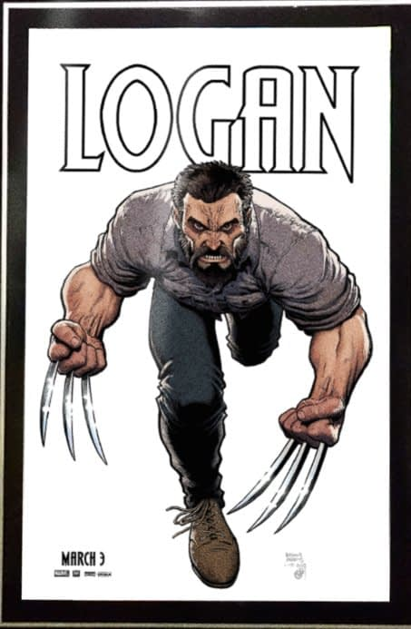 Art Adams Logan Poster