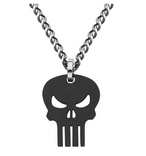 Punisher Necklace_Salesone_Kohls and JCP