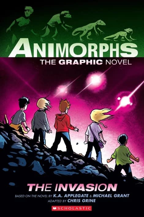 Chris Grine Adapts Animorphs as a Graphic Novel for Scholastic