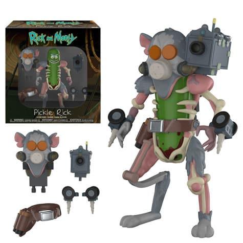 Funko Rick and Morty Pickle Rick Figure