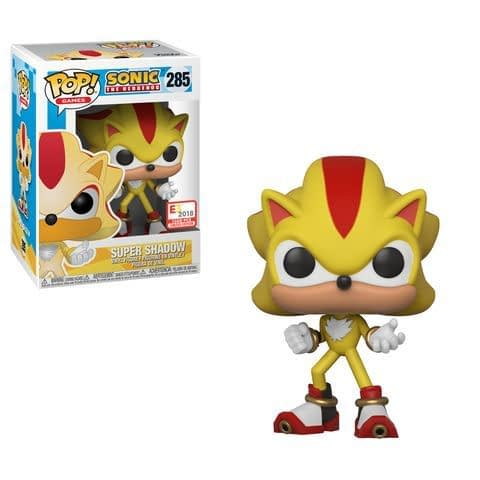 Funko E3 Sonic The Hedgehog Super Shadow