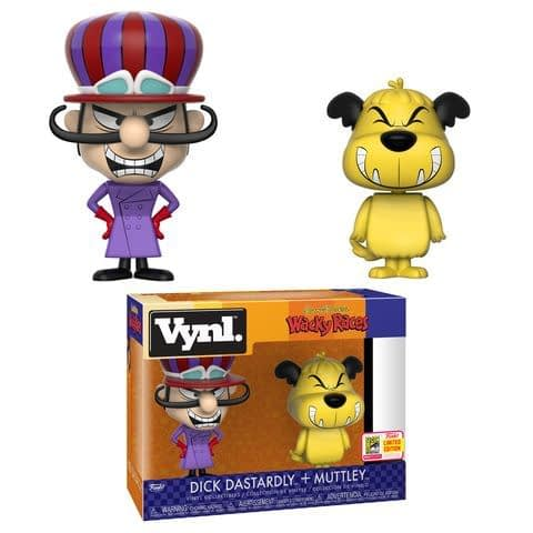 Funko SDCC Dastardly and Muttley Vynl Pack
