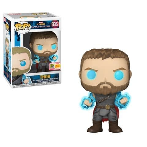 Funko SDCC Exclusive Marvel Thor Ragnarok Lightening Pop