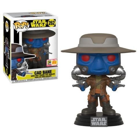 Funko SDCC Exclusive Star Wars Cad Bane Pop