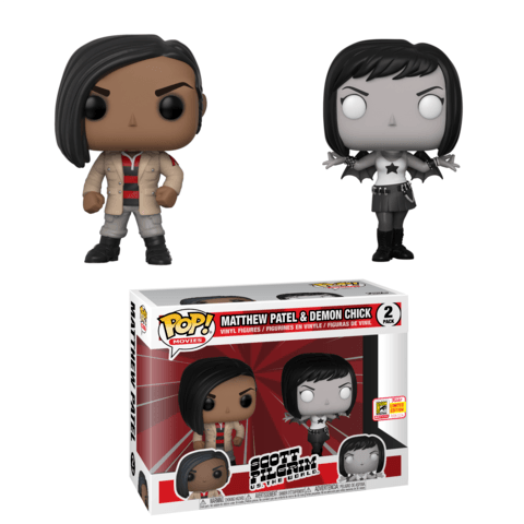 Funko SDCC Scott Pilgrim Patel and Demon Chick Two Pack