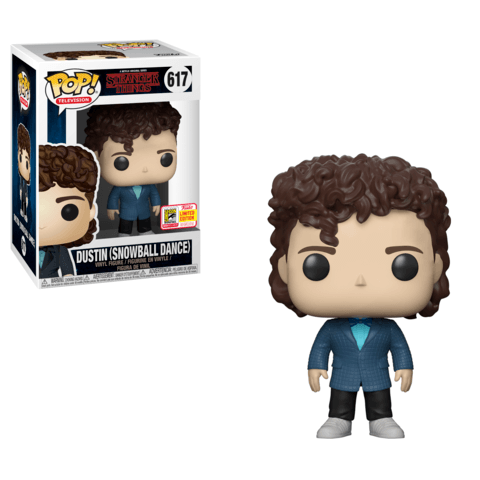 Funko SDCC Stranger Things Dustin Snow Ball