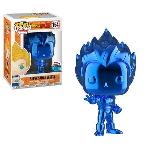 Funko NYCC Anime Dragonball Z Blue Chrome Vegeta