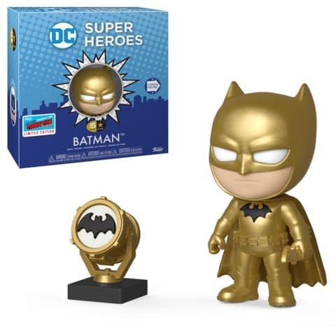 Funko NYCC DC 5 Star Gold Batman
