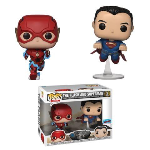 Funko NYCC DC Flash:Superman Race