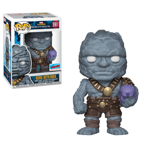 Funko NYCC Marvel Korg with Miek