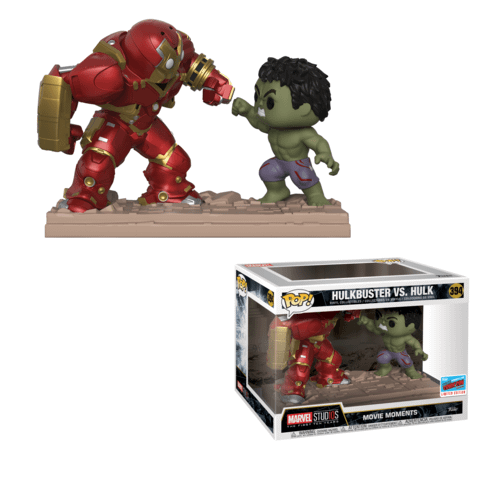 Funko NYCC Marvel Movie Moment Hulk vs Hulkbuster