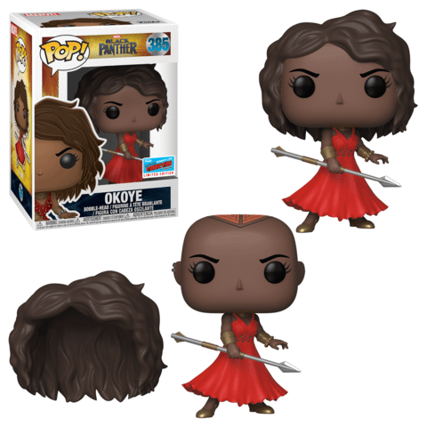 Funko NYCC Marvel Okoye Red Dress